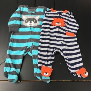 Carters sleepers bundle size 3 months